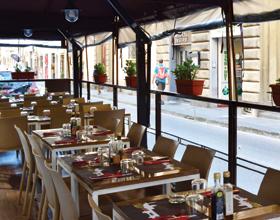 Outdoor Seating Ristorante Rubaconte Pizzeria