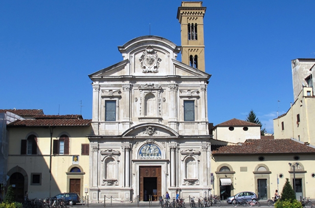 San Salvatore Church of Ognissanti Florence