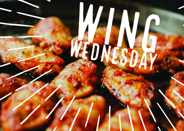 Red Garter Chicken Wings Wednesday Thursday Steakhouse