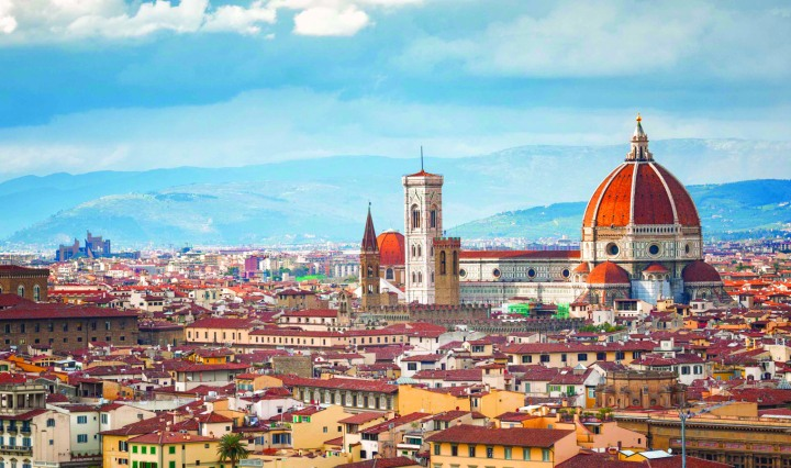 Florence Summer Abroad Study Gelato Beaches Duomo Cathedral