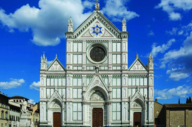 Santa Croce Church Florence Italy