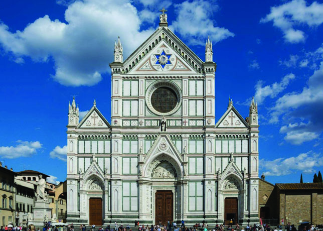 Santa Croce Church Florence Italy