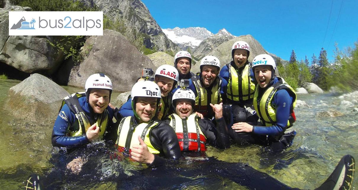 Bus2alps Interlaken Switzerland Canyoning Save $$$ Promo Code CAMPUS