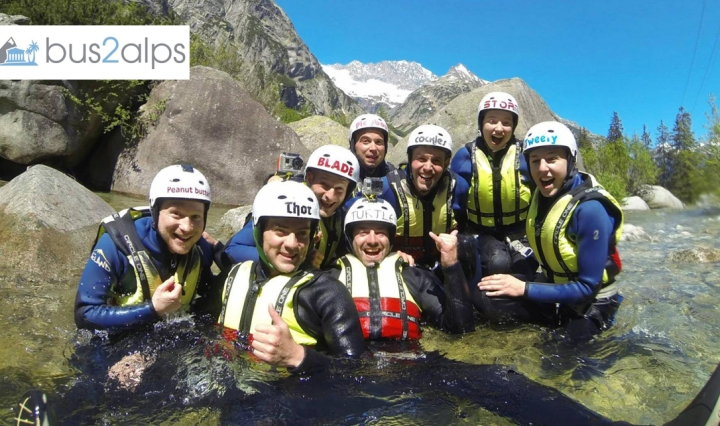 Bus2alps Interlaken Switzerland Canyoning Save $$$ Promo Code CAMPUS