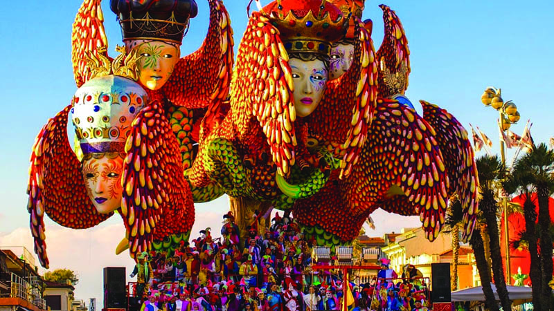 Mardi Gras in Tuscany