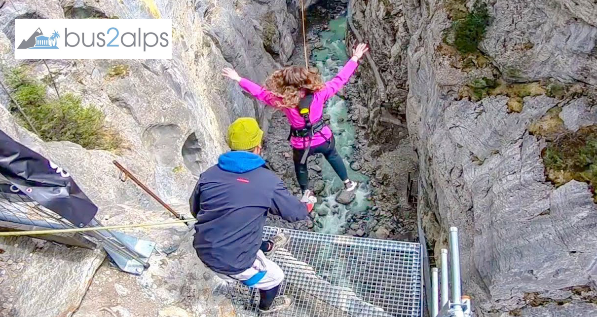 Bus2alps Interlaken Canyon Swing Promo Code CAMPUS
