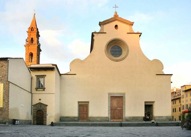 Church Santo Spirito Florence