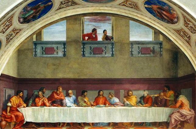 Cenacolo Last Supper Andrea Del Sarto San Salvi Florence