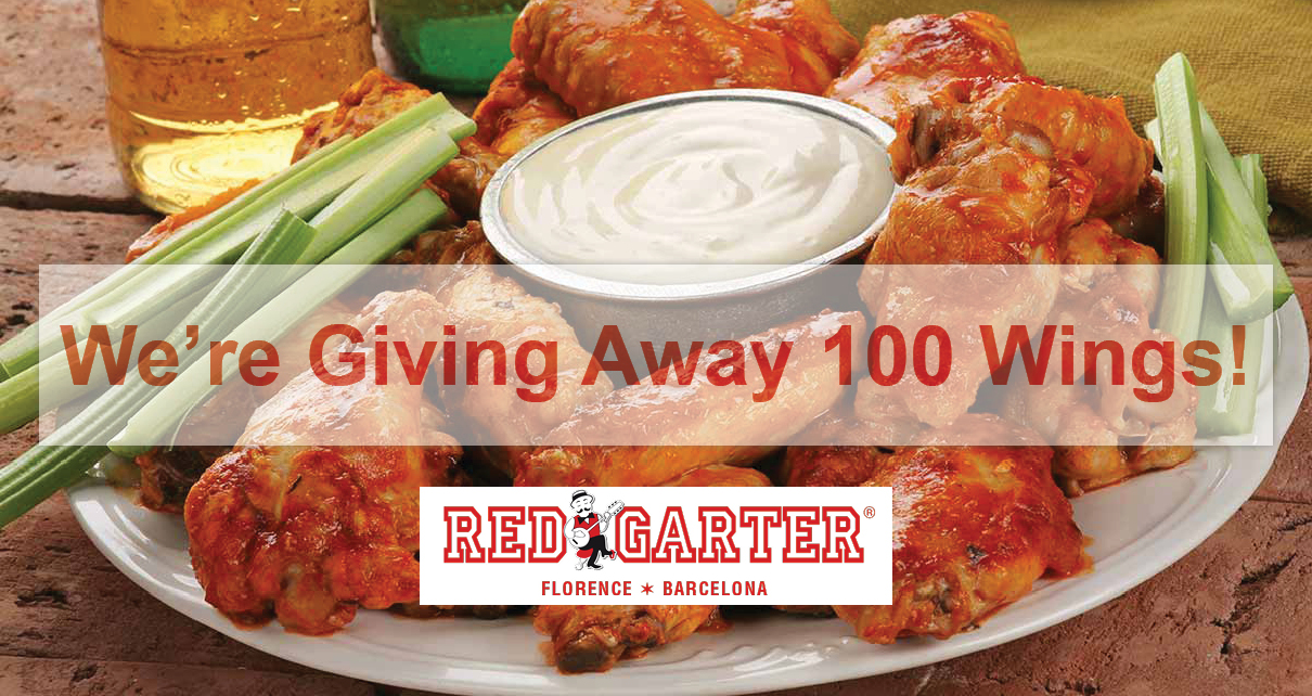 Red Garter Steakhouse Wings Tacos Burgers Florence