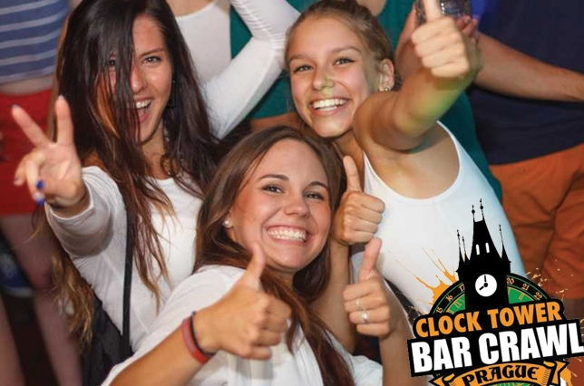 Clock Tower Bar Crawl Prague Discount Code CAMPUS