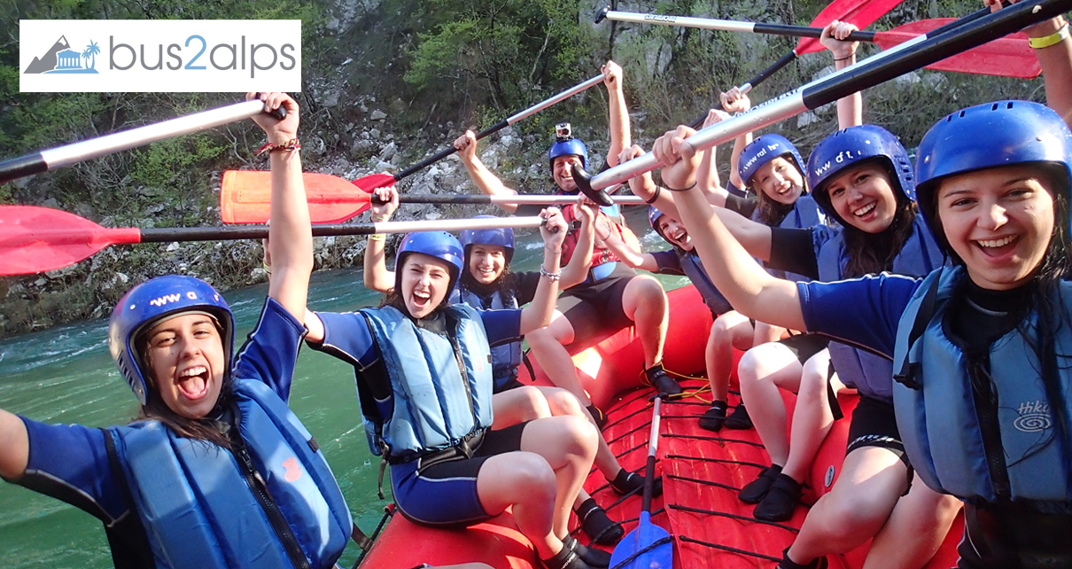 River Rafting in Split with Bus2alps Save $$$ Promo code CAMPUS