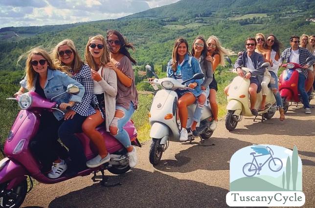 Tuscany Cycle Vespa Tour Chianti Bike Tour Campus Florence Discount