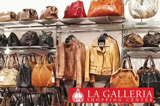 La Galleria Leather Jackets Bags Suitcases Campus Florence Discount