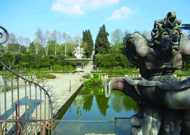 Palazzo Pitti Boboli Gardens Florence Oltrarno