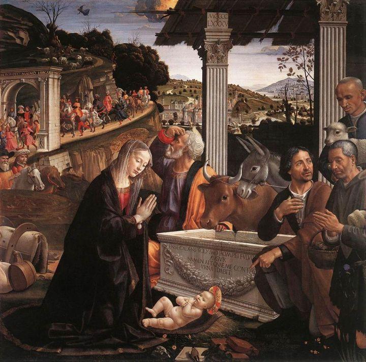 Ghirlandaio Santa Trinita Florence