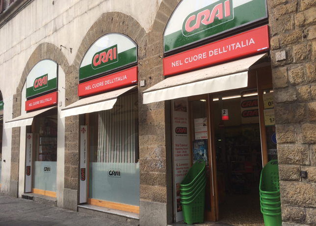 Crai Mini-markets convenience store Florence