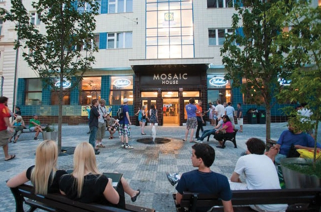 Mosaic House Hostel Prague Czech Republic Eco-Hostel Award Winning