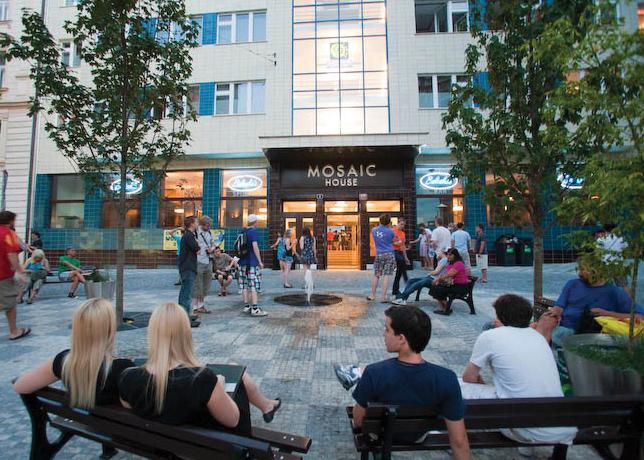 Mosaic House Hostel Prague Czech Republic Eco-Hostel Award Winning