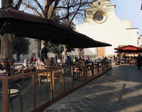 Outdoor Dining Ristorante Ricchi Alfresco Santo Spirito