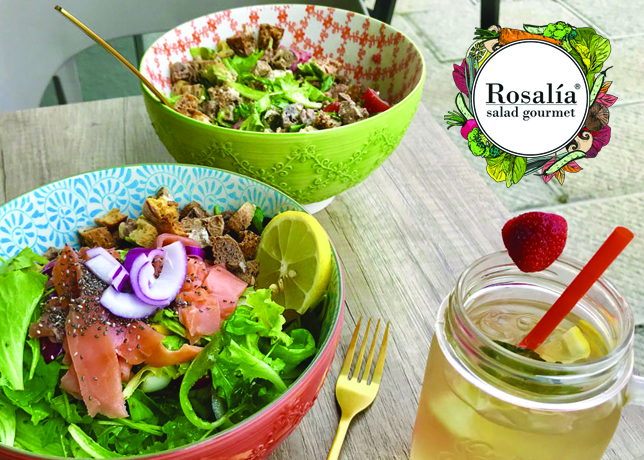 Rosalia Salad Gourmet Duomo Juices Smoothies Florence Breakfast