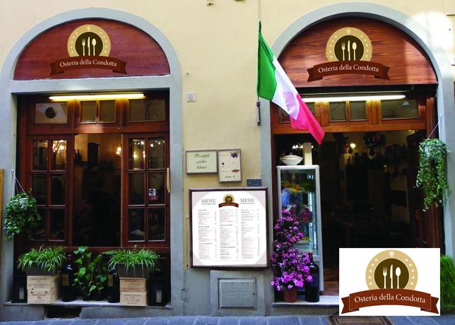 Restaurant Signoria Osteria Della Condotta Steak Bistecca Lunch Dinner Florence