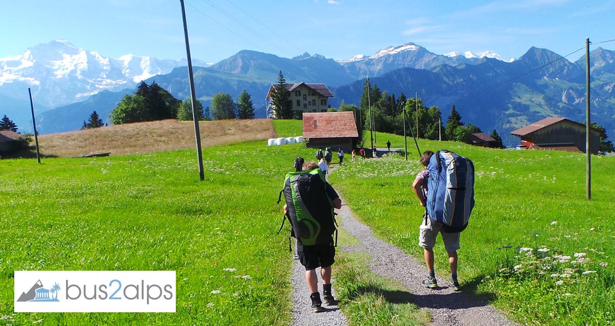 Bus2alps Interlaken Weekend Trip Promo Code CAMPUS