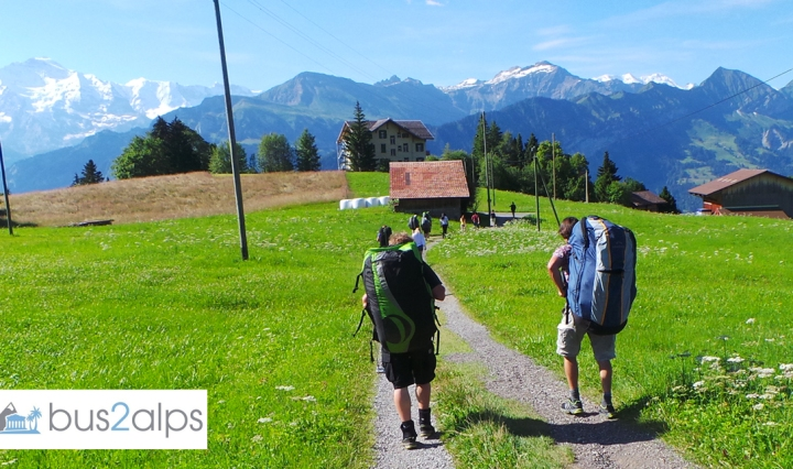 Bus2alps Interlaken Weekend Trip Promo Code CAMPUS