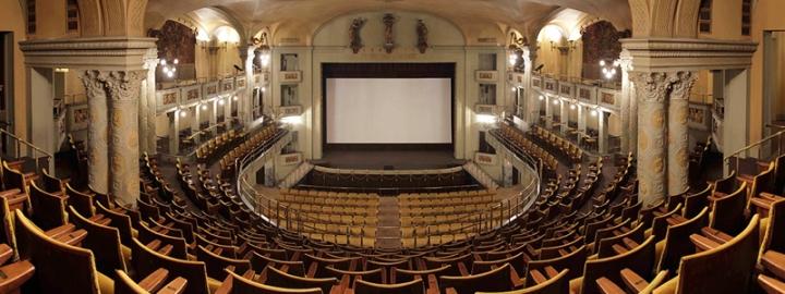 Movie Theater Odeon Original Sound Florence Firenze