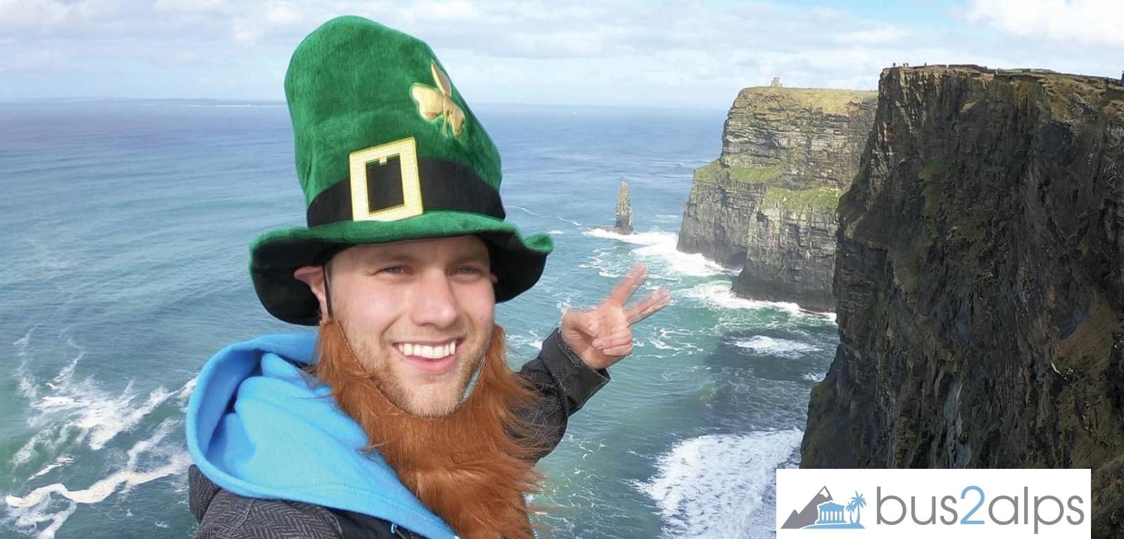 Promo code Campus Bus2alps Ireland St Patricks Day