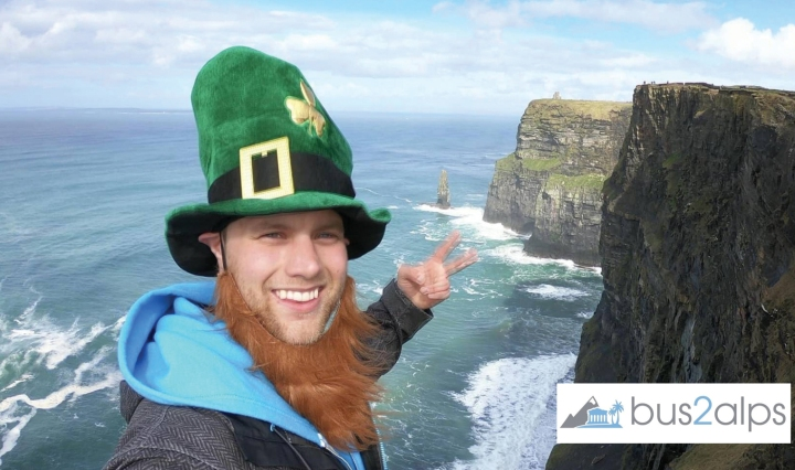 Promo code Campus Bus2alps Ireland St Patricks Day