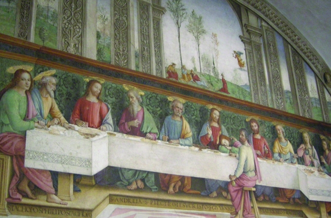 Cenacolo Perugino Fuligno Last Supper Florence