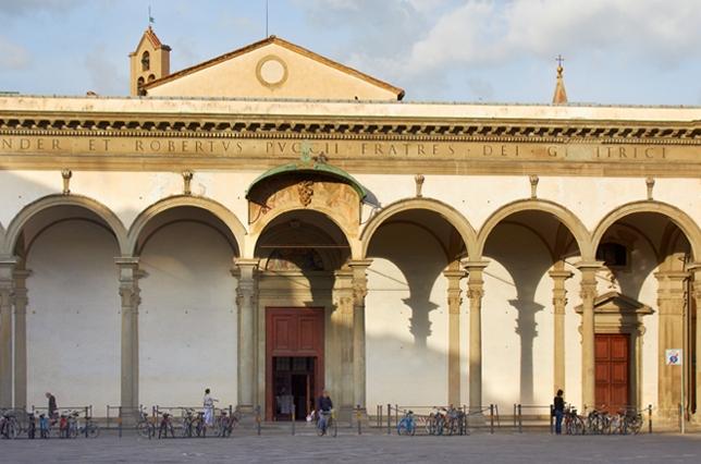 Santissima Annunziata Chiesa Florence Firenze