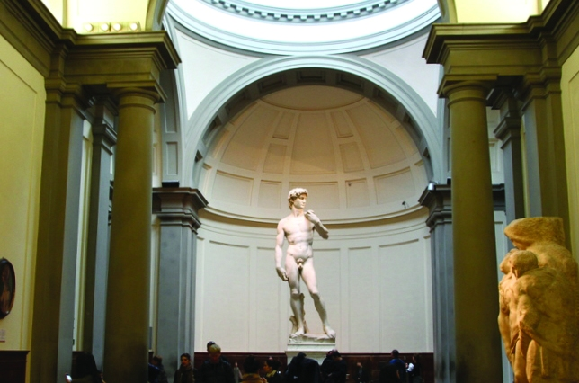 Accademia Gallery Michelangelo David Florence